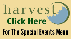 Harvest Special Events Menu